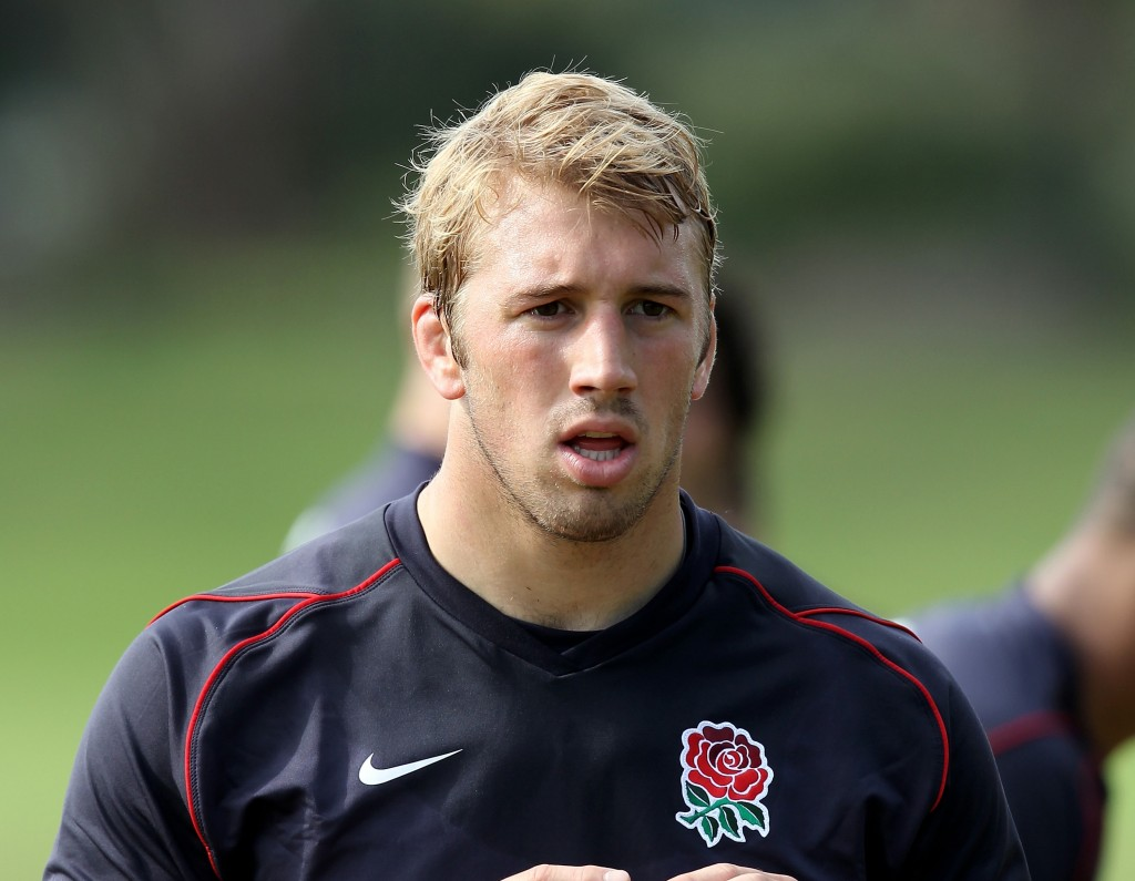 England Rugby Training And Press Conference
